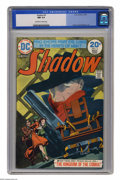 Bronze Age (1970-1979):Miscellaneous, The Shadow #3 (DC, 1974) CGC NM 9.4 Off-white to white pages.Bondage cover by Mike Kaluta. Kaluta and Bernie Wrightson art....