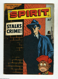 Spirit, The #10 and 12 Group (Quality, 1947-48) Condition: Average VG+. Issue #12 has a Will Eisner cover. Approximate O...