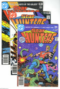 Modern Age (1980-Present):Science Fiction, Star Hunters #1-7 Group (DC, 1976-77) Condition: Average NM.Seven-issue lot includes #1, 2, 3, 4, 5, 6, and 7. Approximate ...(Total: 7 Comic Books Item)