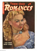 Golden Age (1938-1955):Romance, Teen-Age Romances #7 (St. John, 1949) Condition: GD/VG. Matt Bakerart. Photo cover. Overstreet 2005 GD 2.0 value = $21; VG ...