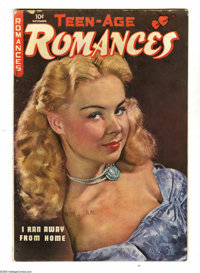 Teen-Age Romances #7 (St. John, 1949) Condition: GD/VG. Matt Baker art. Photo cover. Overstreet 2005 GD 2.0 value = $21;...