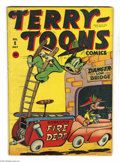 Golden Age (1938-1955):Funny Animal, Terry-Toons Comics #8 (Timely, 1943) Condition: VG. Overstreet 2005VG 4.0 value = $70....