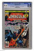 Bronze Age (1970-1979):Horror, Tomb of Dracula #50 (Marvel, 1976) CGC NM+ 9.6 Off-white to whitepages. Silver Surfer appearance. Blade appearance. Gene Co...