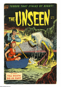 The Unseen #12 (Standard, 1953) Condition: VG-. Nick Cardy cover. Alex Toth and George Tuska art. Overstreet 2005 VG 4.0...