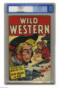 Golden Age (1938-1955):Western, Wild Western #3 Double Cover (Atlas, 1948) CGC VG/FN 5.0 Off-white pages. First issue of the title (formerly Wild West)....