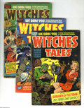 Golden Age (1938-1955):Horror, Witches Tales Group (Harvey, 1951-52). This group includes #6 (GD),7 (GD/VG), and 11 (GD/VG). Approximate Overstreet value ... (Total:3 Comic Books Item)