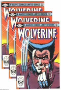 Modern Age (1980-Present):Superhero, Wolverine (Limited Series) Group (Marvel, 1982) Condition: VF+.This group contains nine copies of issue #1. Frank Miller co...(Total: 9 Comic Books Item)