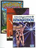 """Bronze Age (1970-1979):Alternative/Underground, Miscellaneous Underground Comics Group (Various, 1970s) Condition: Average VG/FN. Here's a """"tougher"""" breed of Undergrounds: ... (Total: 6 Comic Books Item)"""