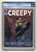 Bronze Age (1970-1979):Horror, Creepy #43 (Warren, 1972) CGC NM 9.4 Off-white to white pages.Richard Corben biography and photo. Ken Kelly cover. Corben, ...