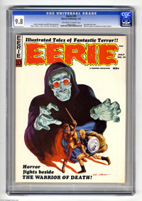 Eerie #10 (Warren, 1967) CGC NM/MT 9.8 Off-white to white pages. Gray Morrow cover. Roy Krenkel, Steve Ditko, Neal Adams...
