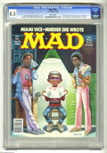 Modern Age (1980-Present):Humor, Mad #261 (EC, 1986) CGC VF+ 8.5 White pages. Frank Jacobs and LouSilverstone stories. Mort Drucker, Angelo Torres, Al Jaffe...