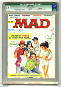 Mad #283 German Edition (EC, 1993) CGC Qualified VF/NM 9.0. Mike Snider and Dennis Snee stories. Jack Davis and Mort Dru...