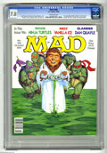 Modern Age (1980-Present):Humor, Mad #306 (EC, 1991) CGC FN/VF 7.0 Off-white pages. Stan Hart andTom Koch stories. Robert Williams cover. Mort Drucker, Ange...