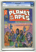 Magazines:Science-Fiction, Planet of the Apes #1 (Marvel, 1974) CGC NM+ 9.6 White pages. Adaptation of the original movie. Bob Larkin cover. Mike Ploog...