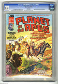 Magazines:Science-Fiction, Planet of the Apes #6 (Marvel, 1975) CGC NM+ 9.6 White pages. Bob Larkin cover. Mike Ploog and George Tuska art. Overstreet ...