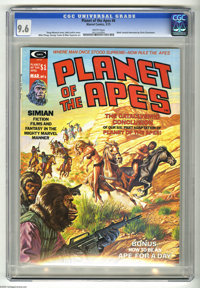 Planet of the Apes #6 (Marvel, 1975) CGC NM+ 9.6 White pages. Bob Larkin cover. Mike Ploog and George Tuska art. Overstr...