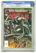Magazines:Superhero, Savage Sword of Conan #86 (Marvel, 1983) CGC NM+ 9.6 Off-white towhite pages. Earl Norem cover. Gil Kane and Pablo Marcos a...
