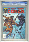Magazines:Superhero, Savage Sword of Conan #104 (Marvel, 1984) CGC NM/MT 9.8 Whitepages. Joe Jusko cover. Val Mayerik, Ernie Chan, and Gene Day ...