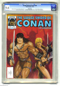 Magazines:Superhero, Savage Sword of Conan #106 (Marvel, 1984) CGC NM 9.4 White pages.Michael Golden cover. Gene Day and Dave Simons art. Steve ...