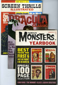Magazines:Miscellaneous, Miscellaneous Horror Magazines Group (Various Publishers, 1960s)Condition: Average FN+.... (Total: 12 Comic Books)