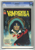 Bronze Age (1970-1979):Horror, Vampirella #18 (Warren, 1972) CGC NM- 9.2 Off-white to white pages.Second appearance of Dracula in title. Luis Garcia front...