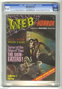 Web of Horror #1 (Major Magazines, 1969) CGC NM 9.4 Off-white to white pages. First appearance of Webster. Art contest c...