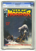 Bronze Age (1970-1979):Horror, Web of Horror #3 (Major Magazines, 1970) CGC NM 9.4 Off-white to white pages. Last issue. Art contest centerfold. First publ...
