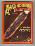 Pulps:Miscellaneous, Amazing Stories Quarterly V2#2 (Gernsback, 1928) Condition: VG+. Scarce bedsheet. Edmund Hamilton story. Very attractive cop...