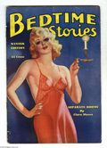 "Pulps:Miscellaneous, Bedtime Stories V6#2 (D.M. Publishing, 1938) Condition: FN. Comic-sized ""sleazy"" pulp. Lots of Good Girl art.The Ultimate Gu..."