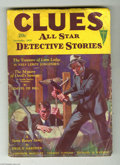 Pulps:Miscellaneous, Clues All Star Detective Stories V24 #4 (Clayton, 1932) Condition: VG. Stories by Erle S. Gardner and Johnston McCulley are ...