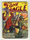 Pulps:Miscellaneous, The Lone Eagle V19#3 (Thrilling, 1939) Condition: VG. World War II cover. Pages light tan to off-white. The Ultimate Guide t...