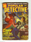 Pulps:Miscellaneous, Popular Detective V30#3 (Thrilling, 1946) Condition: VG. Robert S.Fenton, Lee E. Wells stories. Great Science Fiction cover...