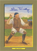 Autographs:Post Cards, Bill Dickey Signed Perez-Steele Great Moments Card. Yankeesbackstop Bill Dickey was the premier backstop of his day, ancho...