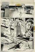 """Original Comic Art:Panel Pages, Tony DeZuniga - Marvel Preview #3, page 4 Original Art (Marvel,1975). """"Not tonight, Baby! As of right now, Fangs, your recr..."""