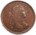 Large Cents, 1797 1C Reverse of 1797, Stems, S-135, B-5, R.3, MS64 Brown PCGS. CAC....