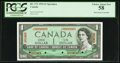 Canadian Currency, BC-37S $1 1954 Specimen PCGS Choice About New 58.. ...
