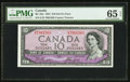 Canadian Currency, BC-32a $10 1954 Devil's Face PMG Gem Uncirculated 65 EPQ.. ...
