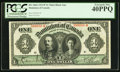 Canadian Currency, DC-18d-i $1 1911 PCGS Extremely Fine 40PPQ.. ...