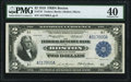 Fr. 747 $2 1918 Federal Reserve Bank Note PMG Extremely Fine 40