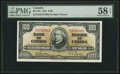 Canadian Currency, BC-27b $100 1937 PMG Choice About Unc 58 EPQ.. ...