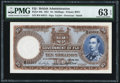 Fiji Government of Fiji 10 Shillings 1.6.1951 Pick 38k PMG Choice Uncirculated 63 EPQ