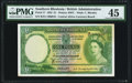 Southern Rhodesia Bank of Southern Rhodesia 1 Pound 10.9.1955 Pick 17 PMG Choice Extremely Fine 45