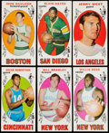 Basketball Cards:Lots, 1969 Topps Basketball Collection (153) With Stars. ...