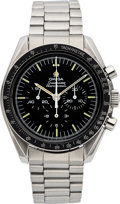 Timepieces:Wristwatch, Omega Speedmaster Professional Steel Chronograph 145.022.78. ...