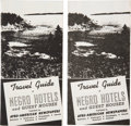 Antiques:Black Americana, Lot of Two Travel Guide of Negro Hotels and Guest Houses.... (Total: 2 Items)