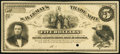Obsoletes By State:Arkansas, Cut Off, AR- S.B. Lemay $5 Feb., 1879 Specimen/Proof Rothert UNL About Uncirculated.. ...