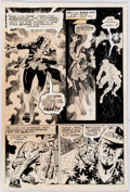 "Original Comic Art:Complete Story, Carlos Pino (attributed) Red Circle Sorcery Unpublished Complete 5-Page Story ""The Reign of Terror"" Original Art (... (Total: 5 Original Art)"
