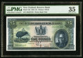 World Currency, New Zealand Reserve Bank of New Zealand 5 Pound 1.8.1934 Pick 156 PMG Choice Very Fine 35.. ...