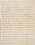 Antiques:Black Americana, Excellent Content Autograph Letter Signed by Charles Waldron Buckley, as Chaplain of the 47th Colored Infantry Regiment....