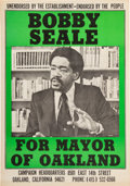 Miscellaneous:Broadside, Bobby Seale For Mayor of Oakland Poster....